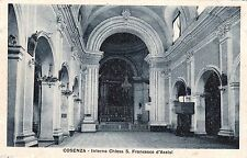 # COSENZA: INTERNO CHIESA S. FRANCESCO D'ASSISI