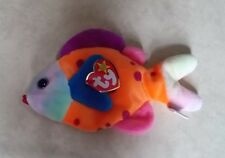 TY BEANIE BABIES LIPS THE FISH BORN MARCH 1999 RETIRED DECEMBER 1999 WITH TAG
