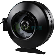 """10"""" Inch Inline Fan Hydroponics Centrifugal Air Duct Cooling Fan Exhaust Blower"""