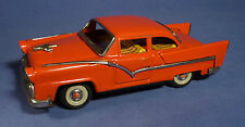 Japan Blech Auto 55er Ford Fairlane Coupe 50's vintage tin toy friction car B171