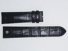 Bruno Söhnle  ( Sohnle ) Genuine Leather Watch Band 22 mm Black