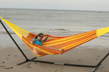 NEW COTTON Mayan MEXICAN Hammock From Yucatan FAMILY