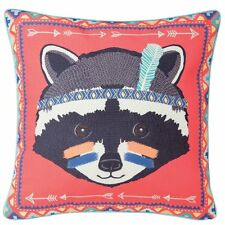 Sass and Belle Racoon Animal Adventure Cuscino Nuovo di Zecca