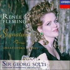 Renée Fleming - Signatures ~ Great Opera Scenes / Sir Georg Solti Wolfgang Amad