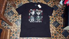 AWESOME! Men's Black T-Shirt KISS 1979 World Tour Crew XXL Lucky Brand $40 NWT!