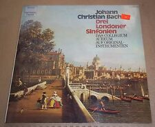 Collegium Aureum J.C. BACH 3 London Symphonies - DHM 1C 065-99 759 SEALED