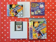 Missile Command Nintendo Gameboy Color Advance SP in OVP mit Anleitung