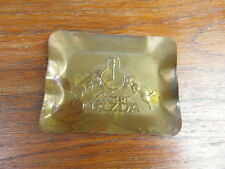 CENDRIER VINTAGE ASHTRAY LAMPE MAZDA circa. 1920-1930 METAL