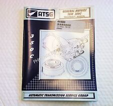 Turbo TH350 TH350C Transmission ATSG Technical Manual 1969-1986 for GM