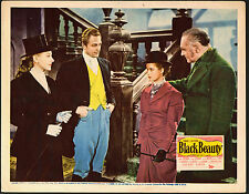BLACK BEAUTY original 1946 lobby card movie poster MONA FREEMAN/EVELYN ANKERS