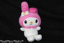 "My Melody Pink Bunny Ears Plush Stuffed Animal Doll 6"" Toy Sanrio Hello Kitty"