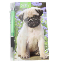 Tallon 2017 Slimline Week To View Diary & Pen - 0810 Dog / Puppy
