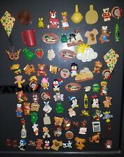 LOT OF 85 VINTAGE KITCHEN MAGNETS