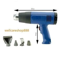hot1500W Heat Gun Hot Air Gun Dual Temperature+ 4 Nozzles Power Tool 450L/min