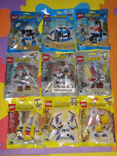 LEGO MIXELS Series 7 CARTOON NETWORK COMPLETE SET OF 9 PACKS NEW
