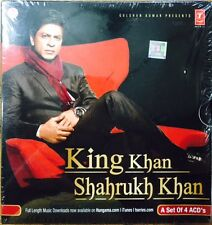 King Khan Shahrukh Khan - 4 CD Set / 48 Songs / Original