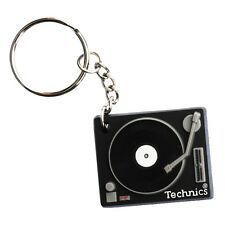 Technics Deck Keyring - World's Favourite DJ Turntable - DMC Moulded Keychain