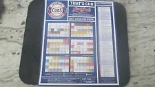 2017 CHICAGO CUBS OPENING DAY-4/10 MAGNET SCHEDULE-2016 WORLD CHAMPIONS W/PROMOS