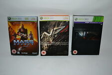 MASS EFFECT 1, 2 & 3 - 3 x LIMITED COLLECTOR'S EDITION  for  XBOX 360
