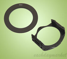 62mm 62 Adapter Ring + Filter Holder Mount for Cokin P Series
