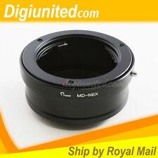 Minolta MD MC lens to Sony E mount NEX adapter NEX-7 6 3 A7S II A7 A7R for Kipon