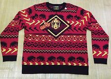 NWOT WeLoveFine  Borderlands Knit Sweater Red Black 2XL Gearbox Playstation XBox