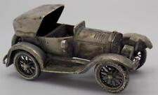 109g Antique Solid Silver BIG Car Miniature - Stamped - Made in Italy