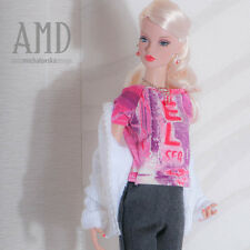 OOAK fashion for Poppy Parker 16''Tulabelle, Kingdom Doll by Anicetta.