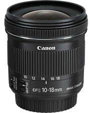 CANON EF-S 10-18mm f/4.5-5.6 IS STM (Black) (SMP6)