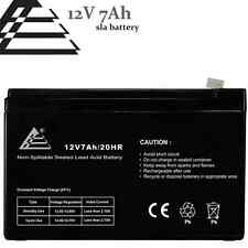 12v 7ah SLA Replacement Battery for APC ES500 ES550 LS500 RBC110 RBC2