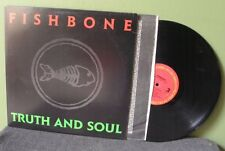 "Fishbone ""Truth and Soul"" LP OOP Orig Red Hot Chili Peppers Sublime"
