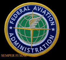 FEDERAL AVIATION ADMINISTRATION FAA HAT UNIFORM PATCH AIR PLANE PIN UP AIRLINE