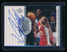 DOMINIQUE WILKINS 2000 UPPER DECK CENTURY LEGENDS LEGENDARY SIGNATURE AUTO