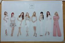 SNSD 2016 Season's greeting Official Poster,Unfolded in a Hard Tube,K-pop