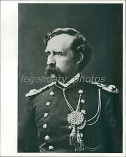 Portrait of General George Armstrong Custer Original News Service Photo