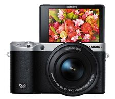 Samsung NX500 4K Video Record Mirrorless Camera 16-50mm Lens (Black)