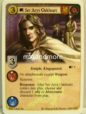 A Game of Thrones LCG - 1x Ser Arys Oakheart #009 - Ice and Fire Draft Pack