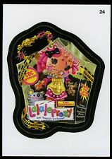 2013 Topps Wacky Packages ANS 11 Series 11 Die-Cut Card #24 ~ Lalaleprosy