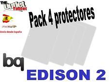 Pack 4 Protectores de pantalla para bq Edison 2 y  Edison 2 3G Fnac 10