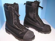 MEN'S LEHIGH STRUCTURAL FIRE FIGHTERS STEEL TOE OIL RESIST SOLE BOOTS SIZE 11 M