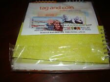 Tag and Coin Mini Albums - Unopened - Donna Downey