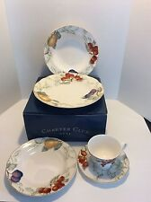 Charter Club Home SUMMER GROVE 5 Piece Place Setting Plates, Bowl, Cup New/Box