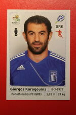 Panini EURO 2012 N. 94 HELLAS KARAGOUNIS NEW With BLACK BACK TOPMINT!!
