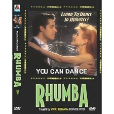 You can dance : RHUMBA (DVD,All,New) Vicki Regan, Ron De Vito