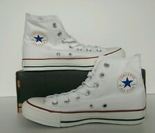 Converse Chuck Taylor All Star Hi White Size 8 UK M7650C