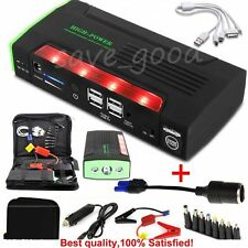 68800mAh 12V Jump Starter Car Emergency Charger Battery Booster Power Bank+Gift