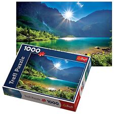 Trefl 1000 Piece Adult Large Morskie Oko Lake Tatras Floor Jigsaw Puzzle NEW