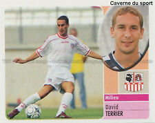 DAVID TERRIER # AC.AJACCIO WEST HAM STICKER  PANINI FOOT 2003 ~
