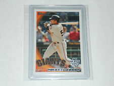 ANDRES TORRES #SFG2 SF Giants 2010 World Series Champion TOPPS card nrmt-mt