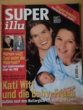 SUPER ILLU 46 - 8.11. 2001 Kati Witt Wolf Biermann Prinzessin Stephanie